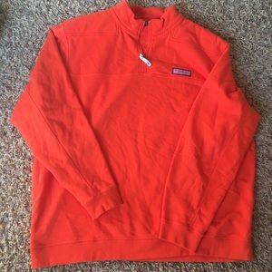 Vineyard Vines Orange Collegiate Shep Shirt XXL